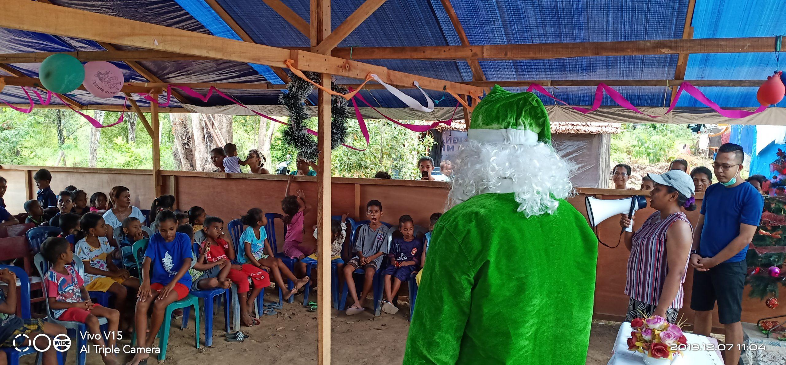 Green Santa, Pengungsian Waai 2019